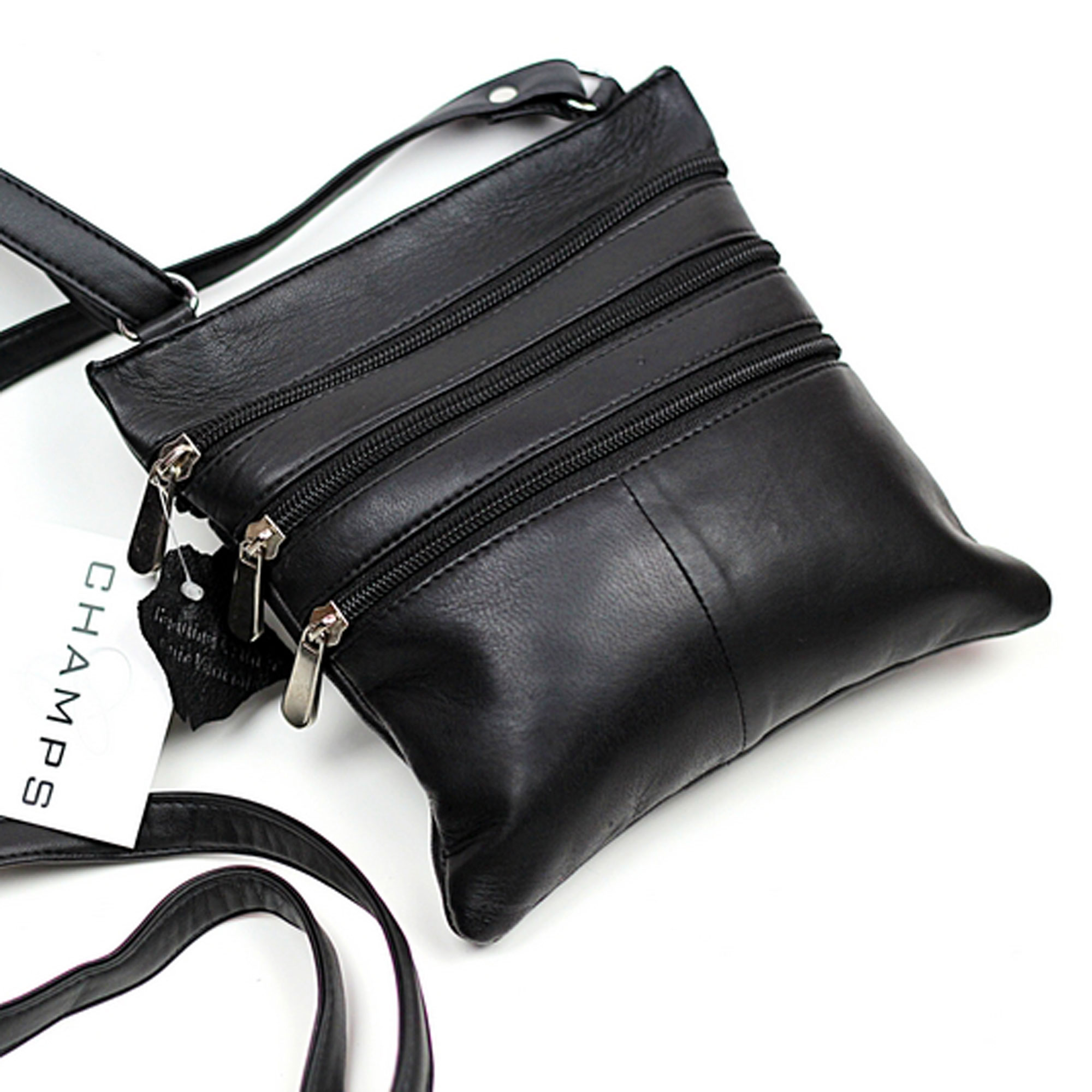 Champs - Leather Crossbody Sling Bag 1027